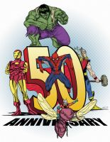 Iron Man Hulk Thor Spidey Ant Man 50 a SDCC s book by mdavidct