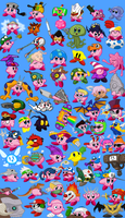 69 Amazing Kirby Copy Abilities!! by BLARGEN69