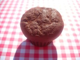 yummi chocolate muffin by toxiclysweet