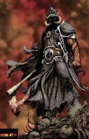 DEATH DEALER color by Mich974