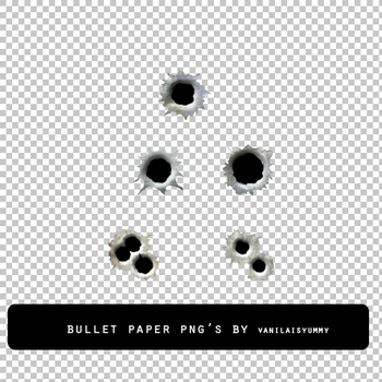 BULLET PAPER png by vanillaisyummy