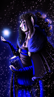 Marcurius Obscuras: The Riddlemaker god by WinterBreez