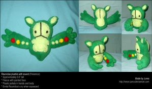 Reuniclus plushie with sound by Neon-Juma