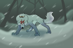 silver fang [SPEED DRAW] by SHlRANUl
