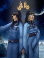 Desna and Eska by johngreeko