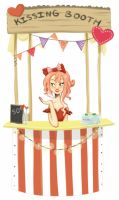 A Kissing Booth by GrilledandCheesed