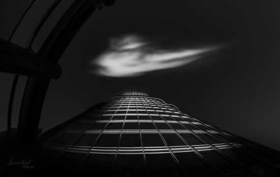 Alone with My Cloud by Hussain-Studio