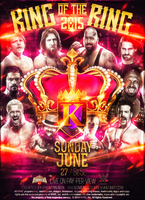 WWE King of the Ring 2015 by PhenomenonGFX