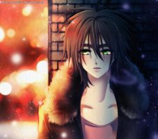 APH OC : Wales - Street Lights by Ys-Ladydrac21