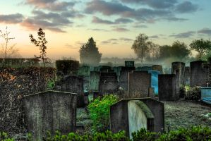 Cemetry by greatinho