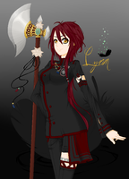 New DGM OC, Lynn (Sorry for long description...) by XxXmoonshineonmeXxX