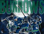 Vancouver Canucks : Three Burrows Moon by Bleezer