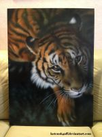 Tiger airbrush work by kotenokgaff