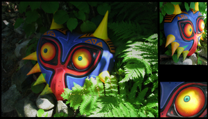 Majoras Mask by BunnehHoodable