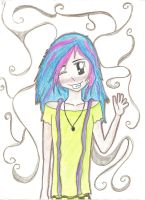 Colorful Girl by gateway-to-hell