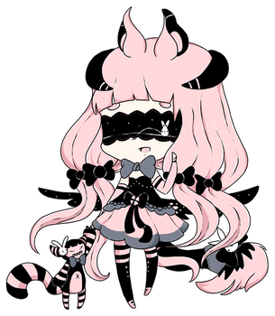 [GIFT] Kissa the Blind Lace by Aviecat