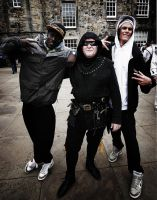 Medieval Gangsters by Linnette