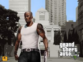 Grand Theft Auto V - Wallpaper Guy HD 1280x1024 by Speetix