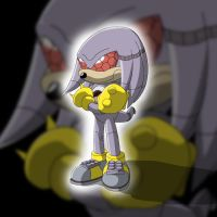 Mecha Knuckles by TheWax