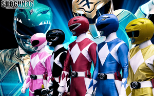 MMPR Wallpaper by ShoguN86