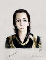 Loki Laufeyson by Develv