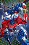 gundam and prime commission colors by markerguru