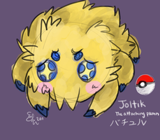 Doodledex: Joltik by Fluffymon