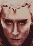 Thranduil Cross Stitch Pattern sample by shingorengeki