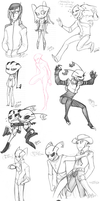 Sketch Dump, Derpin by Zerna