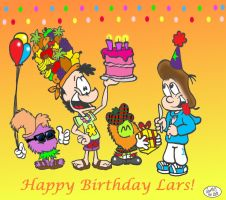 Happy Birthday Lars 2012 by Jamesf5