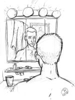 Man in the mirror by phillip-r