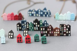 City Skyline Collection by PetitPlat