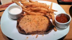 Outback Steak and Fries by BigMac1212
