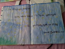 Art journal: pages 2 and 3 by Notebook-Queen