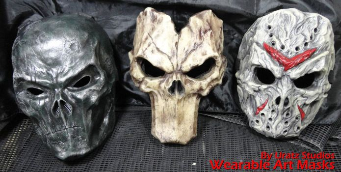 Hide your Ugly face with these by Uratz-Studios