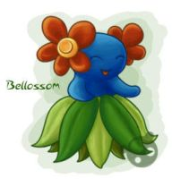 Pokemon - Bellossom by MauraCob