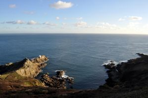 Guernsey cliffs by Chihito