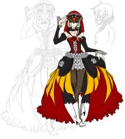 Giselle Masquerade by Little-Imp-Rin