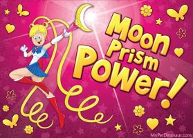 Sailor Moon Power by MyPetDinosaur