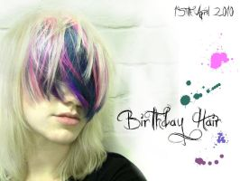Birthday Hair by littlehippy