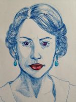 Lady Mary, future Countess of Grantham by tea-at-nancherrow