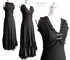 Dress Art Nouveau black, by Somnia Romantica by SomniaRomantica