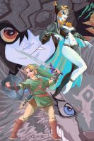 Legend of Zelda Twilight Princess by coreylandis