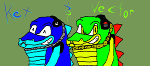 Kex Andy and Vector by SonicFreak4455