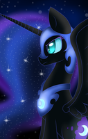 Nightmare moon by Chocoecaramell