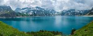 Lunersee panorama 1 by lg-studio