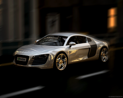 Audi R8 v1.5 by sabrefresco