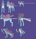 Suicune 3d by PantheraNoctis