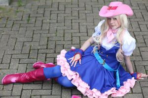 Sheryl Nome- Macross Frontier (Cowgirl) by JustPeachyCosplay