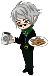 RWBY: Ozpin-Cookie by aerith0808